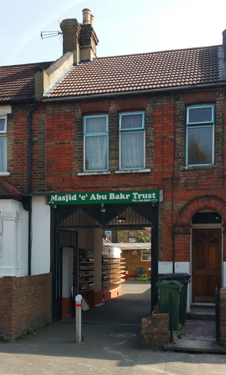 Masjid Abu Bakr and Islamic Education Centre (Trust) (Walthamstow, Waltham Forest)